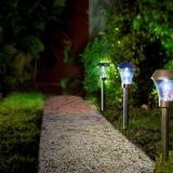 AREIS solar lamp to plant Ř8,5 x 31 cm