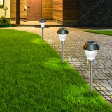 AREIS TRIO set of solar lamp to plant Ř8,5 x 31 cm