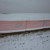 Hófogórács narancs 1,2x25 m